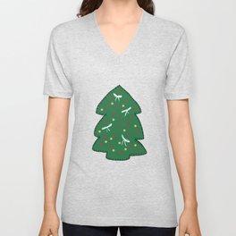 Christmas tree decoration Unisex V-Neck