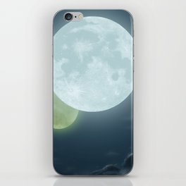 Two Moons iPhone Skin