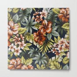 Floral V1 Metal Print