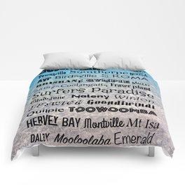 Queensland Poster Comforters