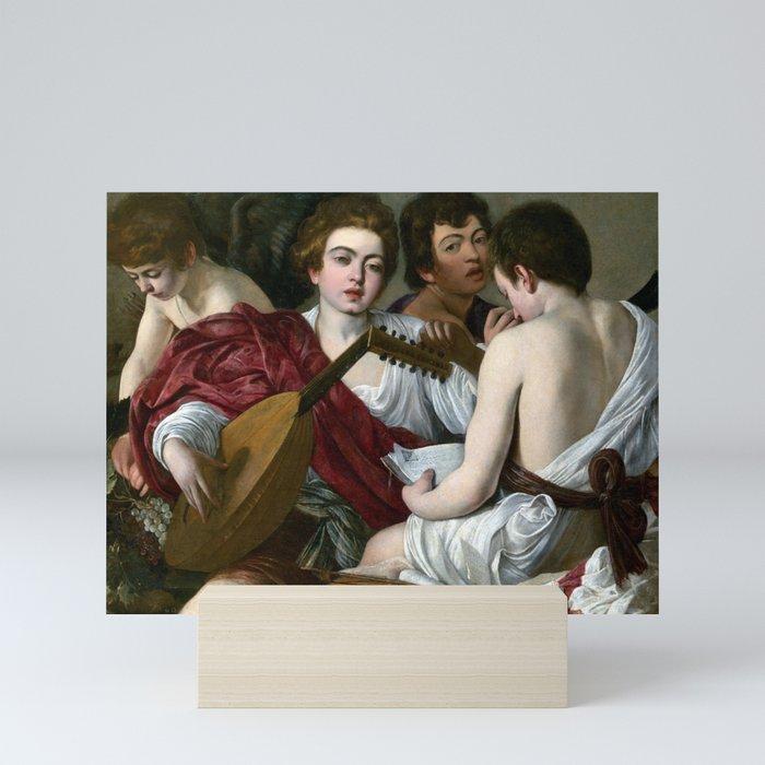 Caravaggio The Musicians Mini Art Print