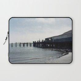 Abandoned Pier in Bodega Bay, California Laptop Sleeve