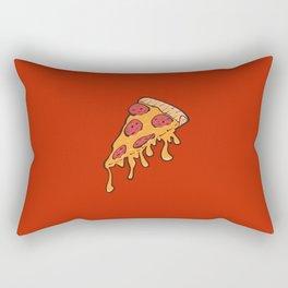 Cheesy Pepperoni Pizza Slice Rectangular Pillow
