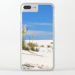 Soap Yucca At White Sand Clear iPhone Case