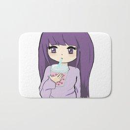 Boba tea Bath Mat
