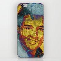 elvis presley iPhone & iPod Skins featuring Elvis Presley by Pedro Nogueira