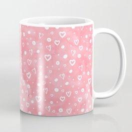 Roses Heart Pattern 01 Coffee Mug