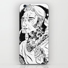 Psychobilly iPhone Skin