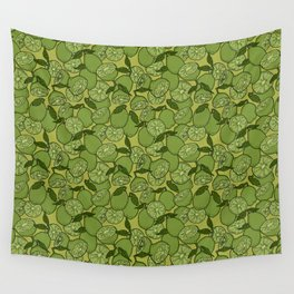 Lime Greenery Wall Tapestry
