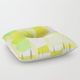 Tiptoe Through the Trapezoids Floor Pillow