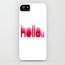 Echo 01 iPhone Case