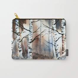 After Glow an original watercolor painting Carry-All Pouch