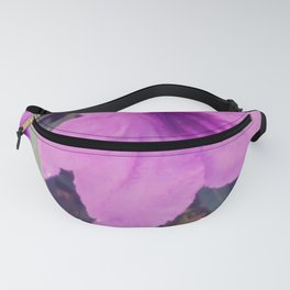 Purple Groundcover Fanny Pack