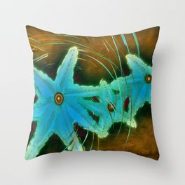 Spin on a Star Throw Pillow