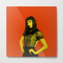 Krysten Ritter - Celebrity (Photographic Art) Metal Print