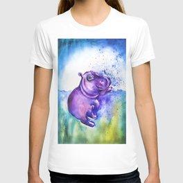 Fiona the Hippo - Splashing around T-shirt