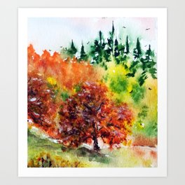 Colors of the Fall Art Print