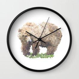 Penrose Tiling Bear Wall Clock