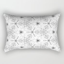 wrapping paper pattern Rectangular Pillow