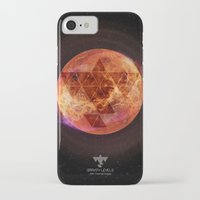 paramore iPhone & iPod Cases featuring Gravity Levels: Red Planet by Sitchko Igor