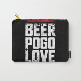 Beer, pogo & love Carry-All Pouch