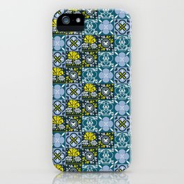 Geometric art pattern1 iPhone Case