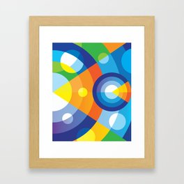 Microphysical 04 Framed Art Print