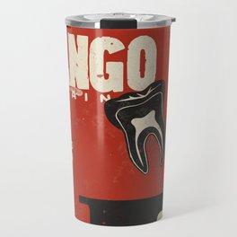 Django Unchained, Quentin Tarantino, alternative movie poster, Leonardo DiCaprio, Jamie Foxx Travel Mug