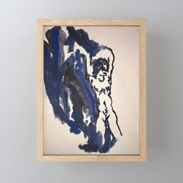 Portrait of A Woman Framed Mini Art Print