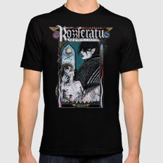 Rozzferatu - Fanart for Rozz Williams 2X-LARGE Mens Fitted Tee Black