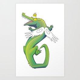 Swamp Queen Art Print