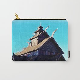 Norwegian Architecture 1 Carry-All Pouch
