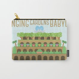 World Wonder: Hanging Gardens of Babylon Carry-All Pouch
