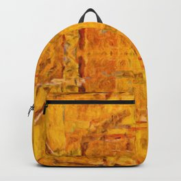 Gold Pattern no 1 Backpack