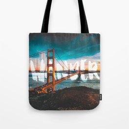 Wander Golden Gate Bridge Tote Bag