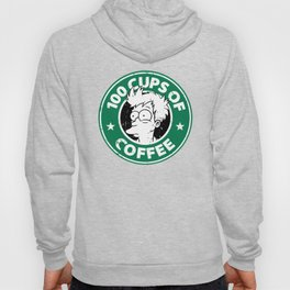 100 Cups Of Coffee Hoody