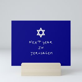 Next year in Jerusalem 7 Mini Art Print