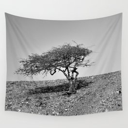 Lonely Tree Wall Tapestry