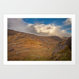 Healy Pass Caha Mountains Ireland Art Print