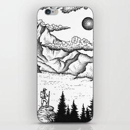 The climber iPhone Skin