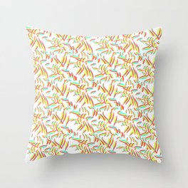 Bad Wallpaper Throw Pillow