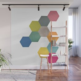 Honeycomb I Wall Mural