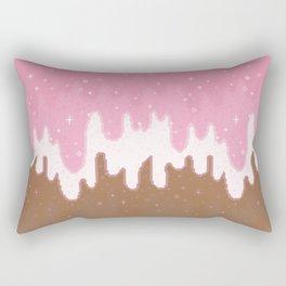 Summer Sweets:  Neapolitan Galaxy Rectangular Pillow