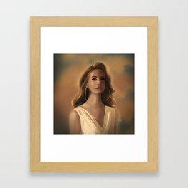Godess Framed Art Print