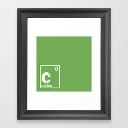 Carbon neutral Framed Art Print