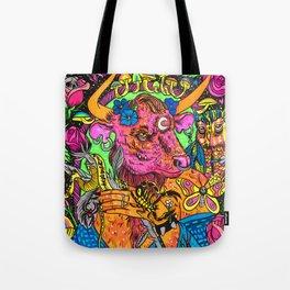 Minotaur Goddess Tote Bag