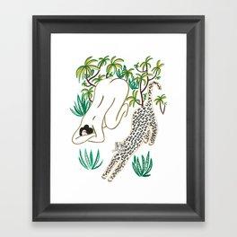Yoga time Framed Art Print