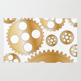 Cogs and Gears Rug