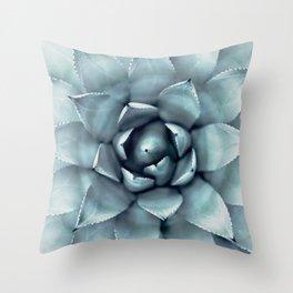 Agave Print, Cactus Print, Succulent Art Throw Pillow