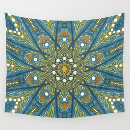 Mandala Eye of the Pisces Wall Tapestry